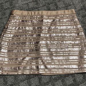 Sequin AE Blush Pink Skirt